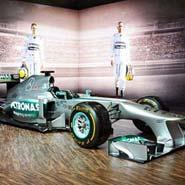 2016 新科 F1 世界冠軍 Nico Rosberg 戰車 Mercedes AMG W04
