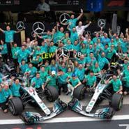 2018 F1 巴西 世界一級方程式 賓士 Benz