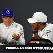 2018 F1 俄羅斯 世界一級方程式 賓士 Benz Lewis Hamilton Valtteri Bottas