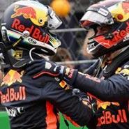 2018 F1 世界一級方程式 紅牛Red Bull Racing Max Verstappen Daniel Ricciardo