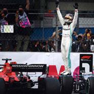 2019 F1 墨西哥 世界一級方程式 賓士 Benz Lewis Hamilton #44