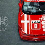 義大利之火 — 愛快羅密歐 Alfa Romeo 155 V6 Ti DTM